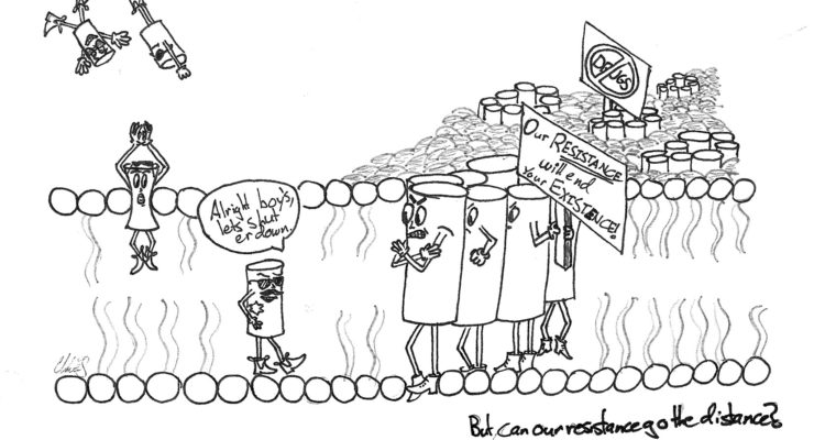 Biochemistry Cartoon Series: The War on Antibiotic-Resistant Bacteria